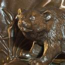 Copper BEAR   Figurine Bookend, Metalware