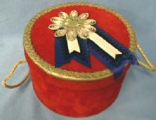 Mini  Miniature Gift  Box - Decorative Hat Box - Misc