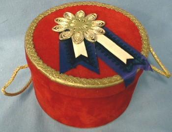 Mini  Miniature Gift  Box - Decorative Hat Box - Misc