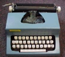 Old MARXWRITER Typewriter - Toys