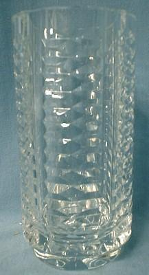 Waterford Crystal Vase - Vintage signed Cut Glass