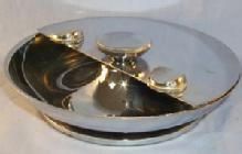 Chrome Rotating Ashtray- Tobacciana