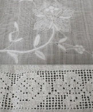 Lace & Embroidered Table Cloth - Textile