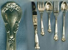 Gorham CHANTILLY Flatware - 45pcs Sterling Silver