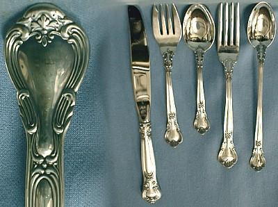 Gorham CHANTILLY Flatware - 45pcs Sterling Silver