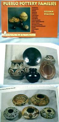 old vintage Pueblo Pottery Book - Collectible Paper - Vintage Ethnographic Indian