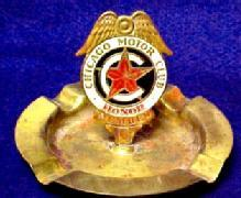 Chicago Motor Club Ash Tray - Tobacciana