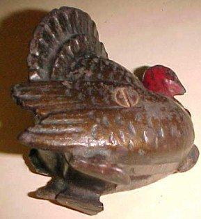 TURKEY Bank Cast Iron- Toys