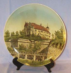 Porcelain Mettlach Plaque