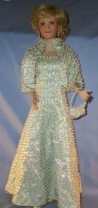 Diana Doll, Porcelain,Collectble,Miscellaneous