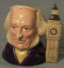 Royal Doulton Porcelain Character Jug JOHN  DOULTON