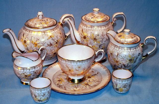 Tuscan Porcelain  ENGLISH Tea Service