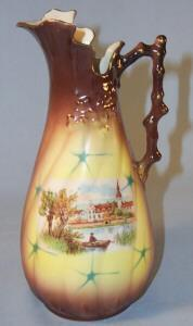 Decorative Pottery Ewer