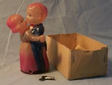 Miscellaneous Collectible Toy Celluloid Occupied Japan Dancing Couple