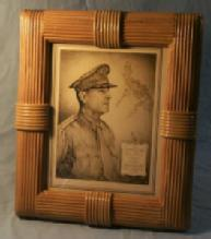 World War II Memorabilia Picture & Frame - Military