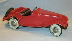 Toy Collectible Red 1954 Doepke MG Car