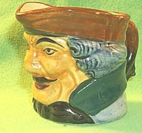 Occupied Japan  Porcelain Toby Mug