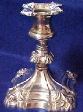 Silver  Candlestick - Metalware
