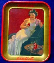 1936 Coca Cola Serving Tray -  Advertising