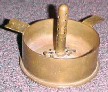 Trench Art Ash Tray - MKW - Tobacciana