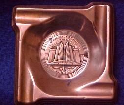 Century of Progress  Ash Tray - Worlds Fair Collectibles