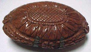 Snuff Box Betel Nut - Tobacciana