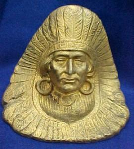Native American Door Stop - Metalware