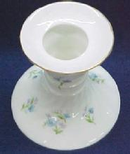 Porcelain Candle Holders Pair - Porcelain/Fine China