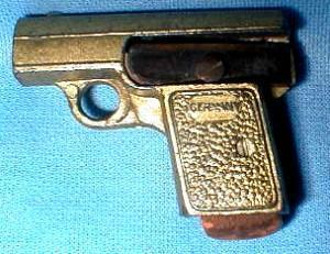 German Gun Pencil Sharpener - Metalware