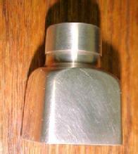 TIFFANY Sander Pounce Pot  - Silver