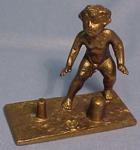 Bronze Thimble Holder CHILD - Metalware