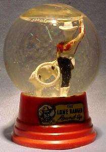 LONE RANGER WESTERN  Snow Dome - Toys
