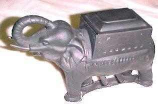 FIGURAL Cigarette Dispenser ELEPHANT - Tobacciana
