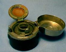 Travel Inkwell - Metalware