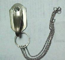 Sterling Silver Chatelaine -  Jewelry