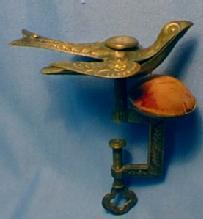 Victorian Brass Sewing Bird - Textiles