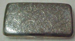 Sterling Cigar Pocket Box - Tobacciana