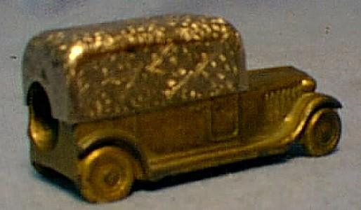 German Pencil Sharpener TRUCK - Metalware