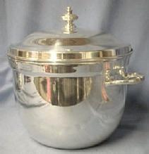 Wine Ice Bucket  POOLE - Silver