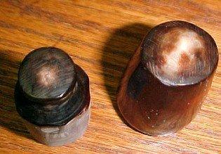 Old Animal Horn Thimble Case - Sewing