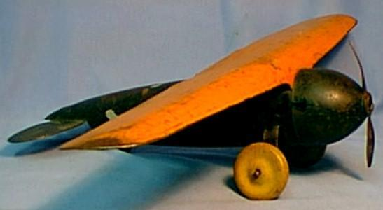 Wyandotte Toy Airplane