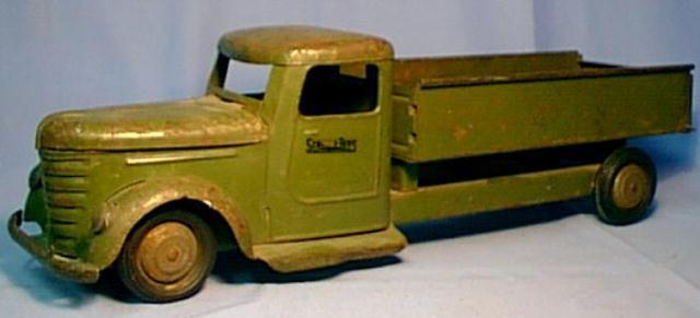Structo Toy Army truck