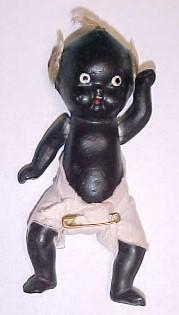 Doll BLACK Baby JAPAN- Toys