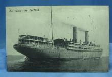 Ship  OCEANIA Steamship Postcard - Early Cruiseship Nautical Transportation