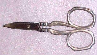 Sterling Scissors Sewing Manicure - Silver