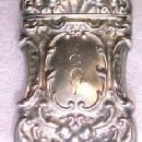 1901 Sterling Matchsafe - Silver