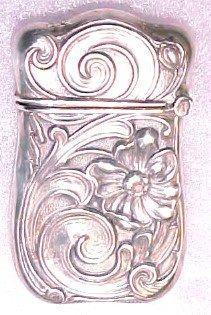 Sterling Matchsafe - Silver