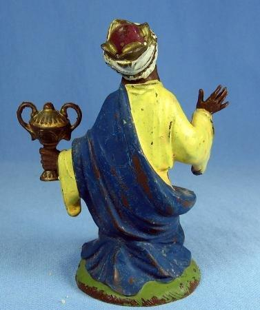 old vintage Enameled Figure - Depose Italy