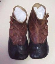 Baby's Black and Brown Shoes - Miscellaneous