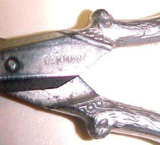 Sewing Scissors Griffon Bird GERANY- Silver